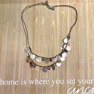 Beachy American Eagle Necklace